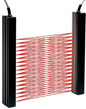 Product image of article LGTR 100 POK-ST4 from the category Light curtains > Digital light curtains by Dietz Sensortechnik.