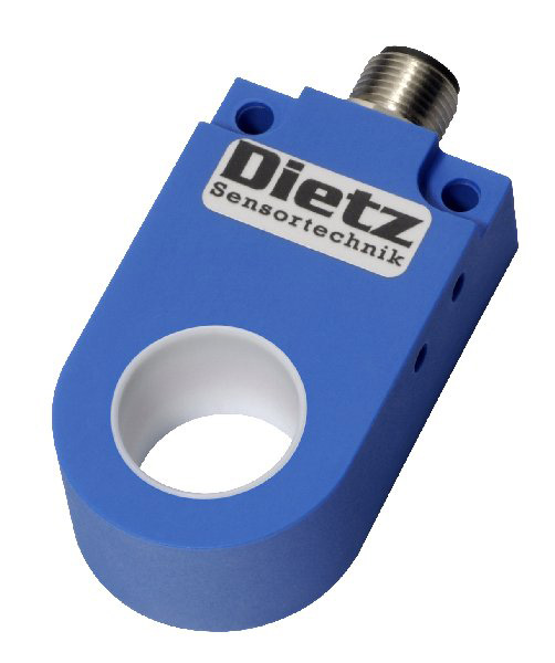 Product image of article IR 21 PSK-ST4 from the category Ring sensors > Inductive ring sensors > Static detection principle > male connector M12 by Dietz Sensortechnik.
